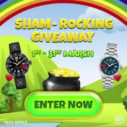 shamrock giveaway